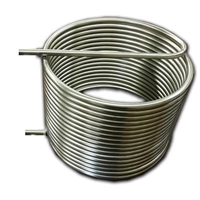 "HERMS Coil, 304 Stainless Steel, 50' x 1/2"" OD Tubing"