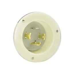 Nema L14 30p Panel Mount Twist Lock Plug For 240v 30 Amps