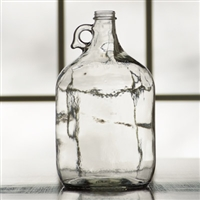 1 Gallon Glass Jug with metal screw cap