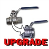 Kit Ball Valve Upgrade - 2pc to 3pc (use only if ordering kit with 2pc Valve as standard)