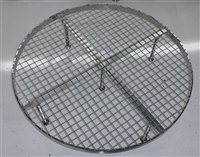 "Stainless Steel False Bottom for Brew In a Bag (BIAB) - 13"" Diameter"