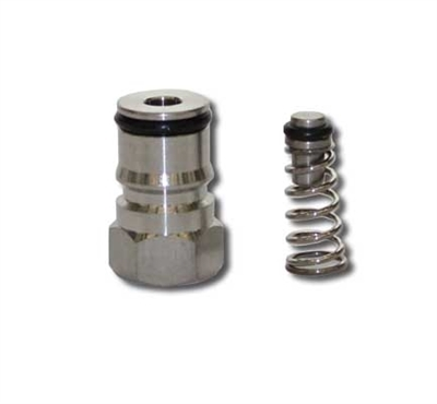 "Gas Side Ball Lock Keg Post (9/16""-18) with Universal Poppet"