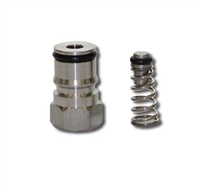 "Liquid Side Ball Lock Keg Post (9/16""-18) with Universal Poppet"