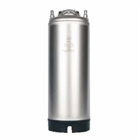 Corny Keg, Ball Lock, 5 gallon, Single Strap Handle, New (AMCYL)