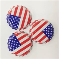 American Flag Oxygen AbsorbingCrowns Bottle Caps 144 count