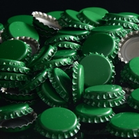 Oxygen Absorbing Green Crowns Bottle Caps 144 count