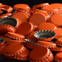 Oxygen Absorbing Orange Crowns Bottle Caps 144 count