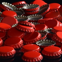 Oxygen Absorbing Red Crowns Bottle Caps 144 count