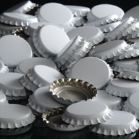 Oxygen Absorbing White Crowns Bottle Caps 144 count
