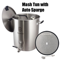 Brew Built Configured Mash Tun (MLT) with Autosparge