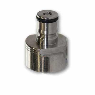 Stainless Ball Lock Soda Bottle Carbonator Carbonation Cap