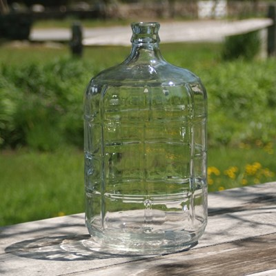Italian 3 Gallon Glass Carboy