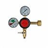Taprite T742HP-02 CO2 Regulator, Single Pressure, Dual Gauge MFL OUT