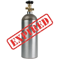 CO2 Tank Swap / Exchange, 5lb OUT OF DATE, NO SHIPPING