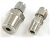"Tube Compression x NPT Threaded Adapter - 1/2"" Tube x 1/2"" MNPT"