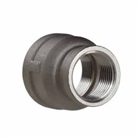 "Threaded Reducing Coupling - 1/2"" x 1/4"" NPT"