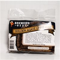 Oak Chips, Golden Agave Barrel, 4oz