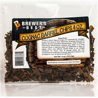 Oak Chips, Cognac Barrel, 4oz