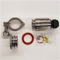 "Hot Pod Kettle Element Enclosure ETC4WL - TC1.5"" Enclosure w/clamp, gasket, and 1.5"" TC Weldless Flange"