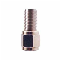 "Swivel Flare Adapter - 1/4"" FFL x 1/2"" OD hose barb"