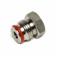 "1/4"" FFL Female Flare to 19/32"" -18 Keg Post Adapter"