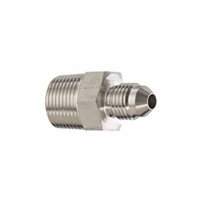 "1/2"" NPT Male to 1/4"" MFL Male Flare Adapter"