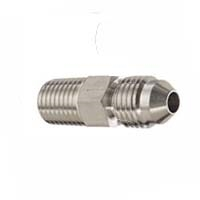 "1/8"" NPT Male to 1/4"" MFL Male Flare Adapter"