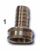 Garden Hose Adapter #1 FGHT x 5/8barb