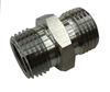 "Hex Nipple, 1/2"" NPT PREMIUM Low Profile / Undersized"