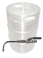 Keg to Kettle Conversion Kit - Weld-On Drain Valve Only