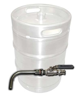 Keg to Kettle Conversion Kit - Weldless Drain Valve Only