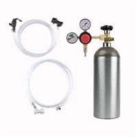 Kegging Kit - For Ball Lock - Picnic Faucet - EMPTY CO2