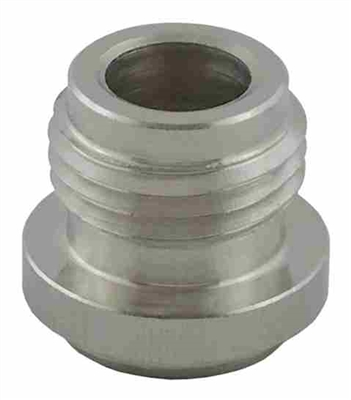 "Weld or Solder On Keg Post Adapter 19/32"" -18"