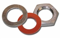Make Weldless Kit 1/2 in NPT, LOCKNUT, washer, gasket for metal vessels