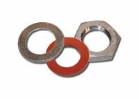 Make Weldless Kit 1/4 in NPT, LOCKNUT, washer, gasket for metal vessels