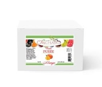 Brewer's Orchard Mango Puree, 4.4 LB Aseptic Bag