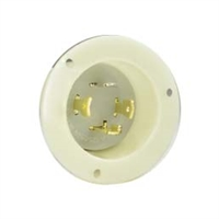 Nema L14-30P Panel Mount Twist Lock Plug for 240v, 30 amps