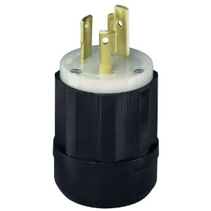 Plug, Nema L6-30P Twist Lock Plug for 240v, 30 amps
