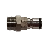 "NPT Male, 1/2"" Ball Lock Gas"