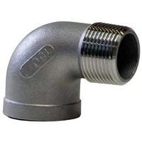 NPT Threaded Elbow, Female/Male Street 90
