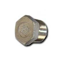 SS Threaded Plug, Male NPT