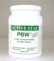 PBW, 4 LBs Powdered Brewery Wash