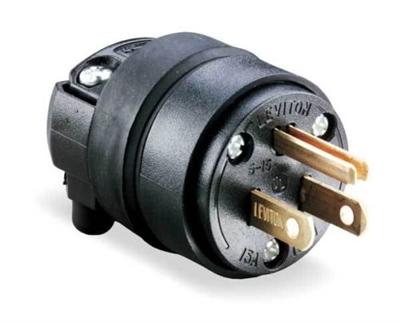 Cable Plug Nema 5 15p Plug For 120v 15 Amps
