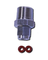 "Probe Compression Fitting 1/2"" MNPT x 1/4 probe PCOMP1"