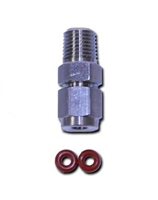 "Probe Compression Fitting 1/4"" MNPT x probe PCOMP2"