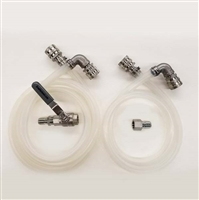 Pump Connection Kit with BL Quick Disconnects For Inline Pumps (pump not included)