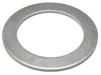 SS Washer for 1/2 NPT, bulkheads, etc THIN 1/16""