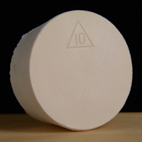 Rubber Stopper, Solid,  #10