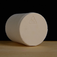 Rubber Stopper, Solid,  #6