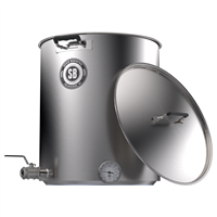 Spike 15gal V4 Kettle with 2 Horizontal NPT Couplers
